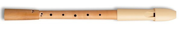 Prima Treble Recorder, Pearwood body/Beige headjoint