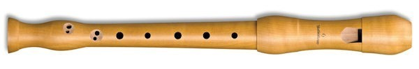Student Descant Recorder in Pearwood