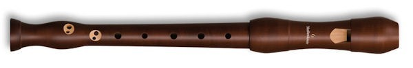 Student Descant Recorder in Stained Pearwood