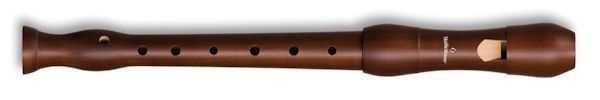 Student Descant Recorder (Single holes) in Stained Pearwood