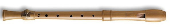 Canta Treble Recorder (Single key), in Pearwood