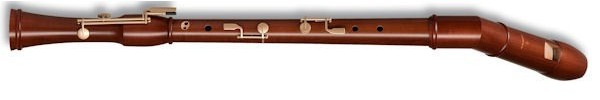 Canta Knick Bass Recorder in Stained Pearwood