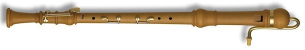 Denner Bass Recorder in Pearwood