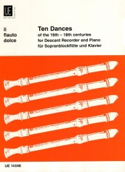 Ten Dances of the 16th - 18th centuries