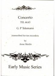 Concerto in C Major TEL 44:43
