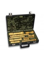 Sopranino/Descant/Treble/Tenor Recorder Hard Case (with Lock)