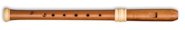 Dream-Edition Treble Recorder in Plumwood