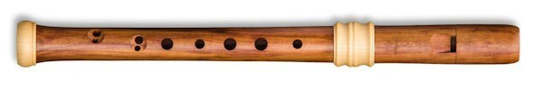 Dream-Edition Descant Recorder in Plumwood