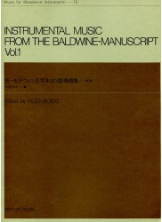 Instrumental Music from the Baldwine-Manuscript Vol 1