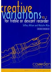 Creative Variations Vol 2