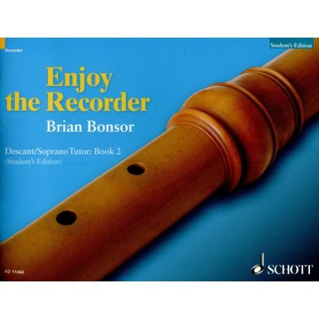Enjoy the Recorder Descant Tutor Book 2