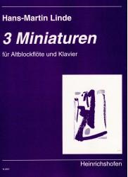 3 Miniaturen