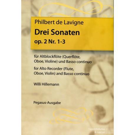 Three Sonatas, Op 2, Nos I-III