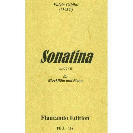 Sonatina Op. 65/E