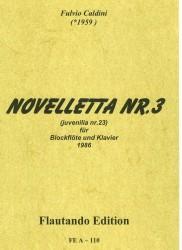 Novelletta Nr 3