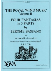 The Royal Wind Music Volume II br Four Fantasias in 5 Parts