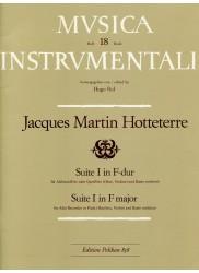 Suite I in F Major