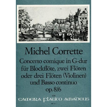 """Concerto comique in G Major """"Le Plaisir des Dames"""""""