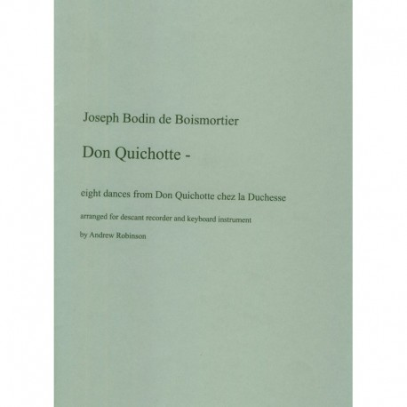 Don Quichotte, Eight dances from Don Quichotte chex la Duchesse