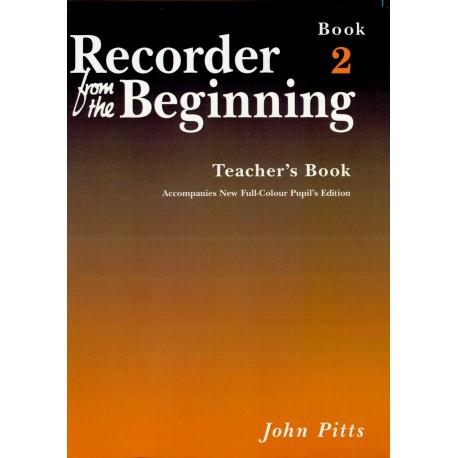 Recorder from the Beginning Teacher Book