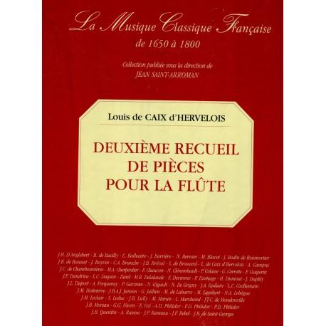 Deuxième Recueil de Pièces pour la Flûte avec la Basse. Paris 1731
