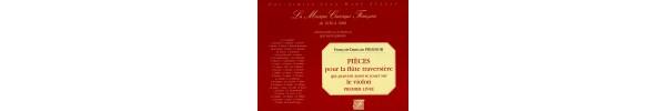 Pieces pour la flute traversiere qui peuvent aussi se jouer sur le violon premier livre
