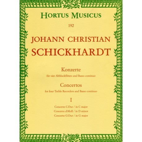 Concertos Volume 1