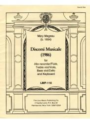 Discorsi Musicale