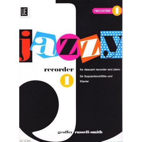 Jazzy Recorder 1 for Young Players