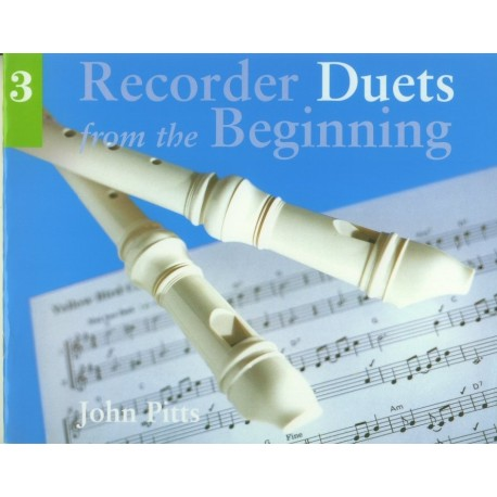 Recorder Duets from the Beginning 3