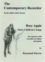 Rosy Apple, Three Children's Songs