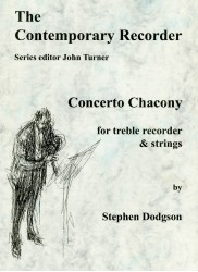 Concerto Chacony - SCORE ONLY, NO PARTS