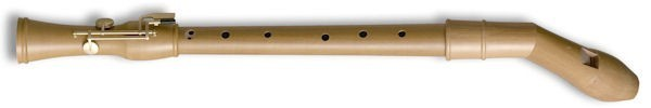 Canta Knick Tenor Recorder (with key) in Pearwood