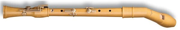 Canta Knick Comfort Tenor Recorder (with four keys) in Pearwood