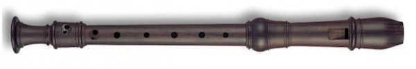 Denner Descant Recorder in Grenadilla