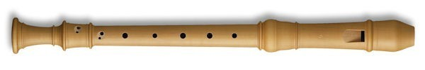 Denner Treble Recorder in Pearwood