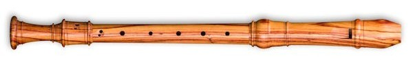 Denner Treble Recorder in Tulipwood