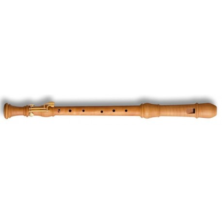 Denner Tenor Recorder (with double key) in Pearwood