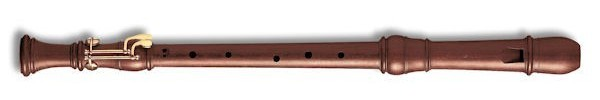 Denner Tenor Recorder (with double-key) in Rosewood