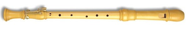 Denner Tenor Recorder (with double key) in Castello Boxwood