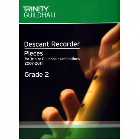 Descant Recorder Exam Book Grade 2 (Trinity Guildhall Examinations 2007-2011)