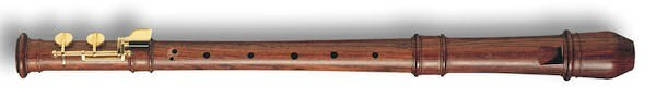 Modern Treble  Recorder (F-foot) in Rosewood