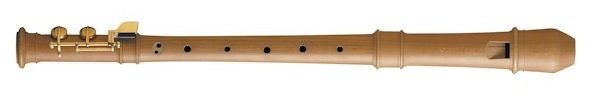 Modern Treble Recorder (F-foot) in Pearwood