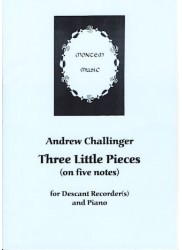Three Little Pieces (on five notes)