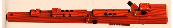 Basset Recorder in Birch/Cherry