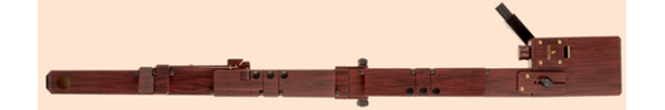 Greatbass Recorder in Birch/Rosewood