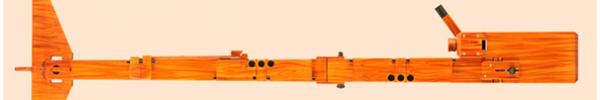 Contrabass Recorder in Birch/Cherry