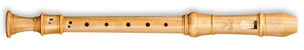 Denner-Edition Descant Recorder A-415 in Satinwood