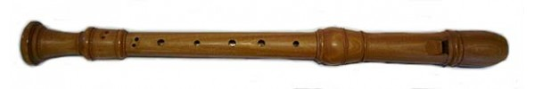 Handmade Stanesby Treble Recorder in Satinwood