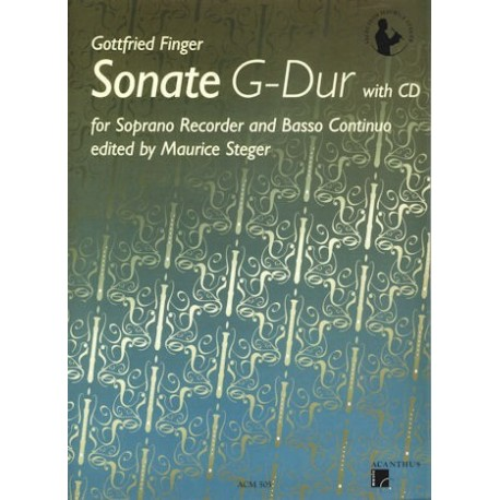 Sonata in G Major (with CD)